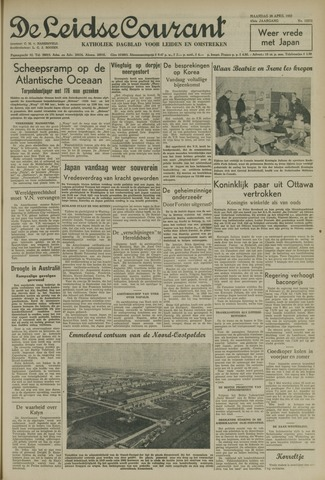 Leidse Courant 1952-04-28