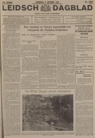 Leidsch Dagblad 1938-09-08