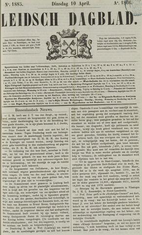 Leidsch Dagblad 1866-04-10