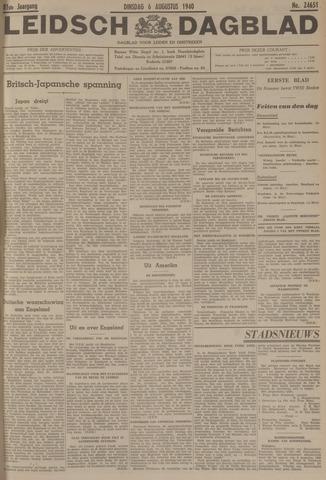 Leidsch Dagblad 1940-08-06