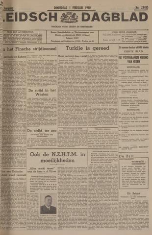 Leidsch Dagblad 1940-02-01