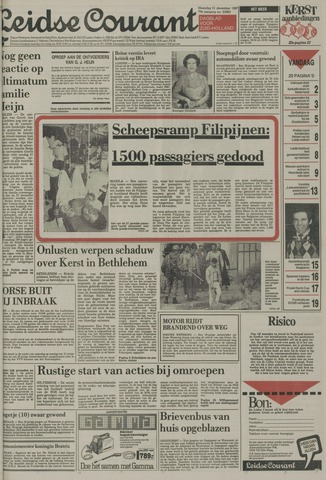 Leidse Courant 1987-12-21