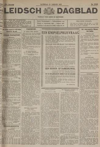 Leidsch Dagblad 1933-01-21