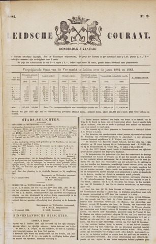 Leydse Courant 1884-01-03