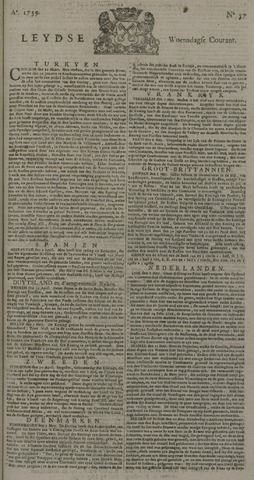 Leydse Courant 1739-05-13