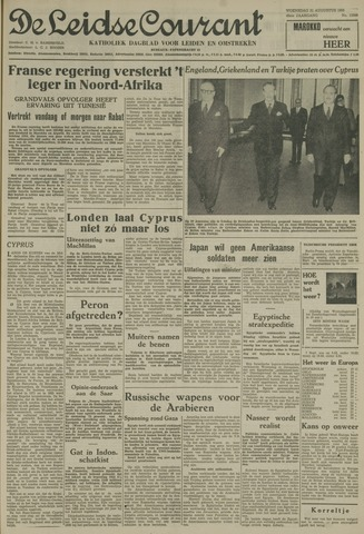 Leidse Courant 1955-08-31