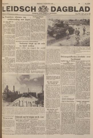 Leidsch Dagblad 1951-08-17