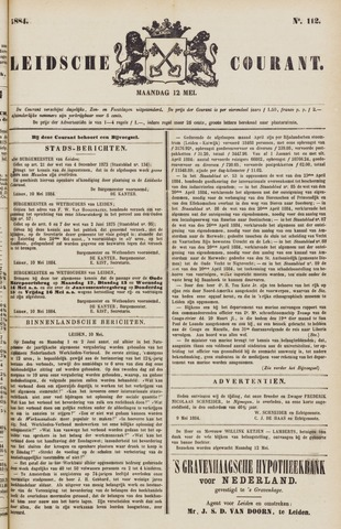 Leydse Courant 1884-05-12