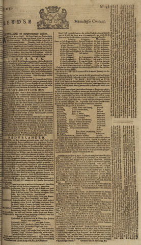 Leydse Courant 1755-04-21
