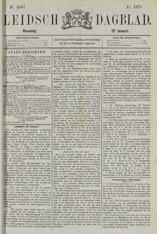 Leidsch Dagblad 1875-01-25