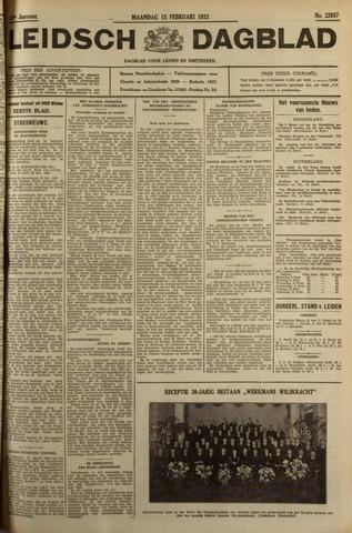 Leidsch Dagblad 1932-02-15
