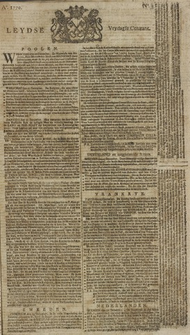 Leydse Courant 1770-01-05