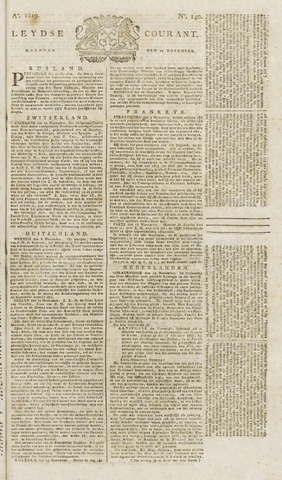 Leydse Courant 1819-11-22