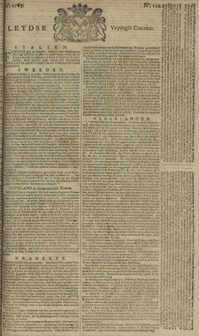 Leydse Courant 1765-09-13