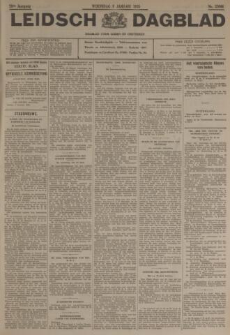 Leidsch Dagblad 1935-01-09