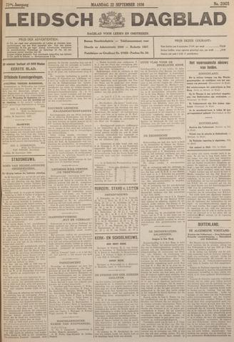 Leidsch Dagblad 1930-09-22
