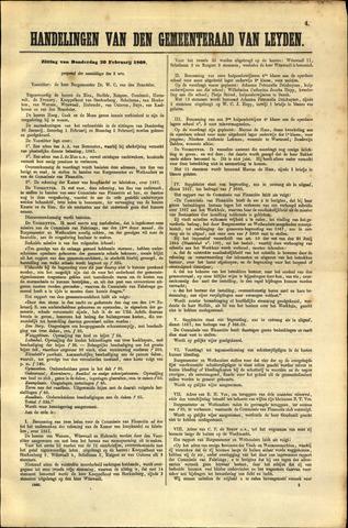 Handelingen van de Raad 1868-02-20