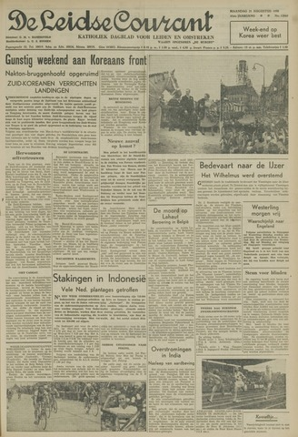 Leidse Courant 1950-08-21