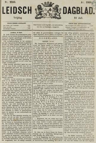 Leidsch Dagblad 1868-07-10