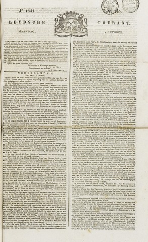 Leydse Courant 1841-10-04