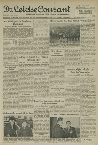 Leidse Courant 1952-03-10