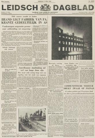 Leidsch Dagblad 1956-07-03