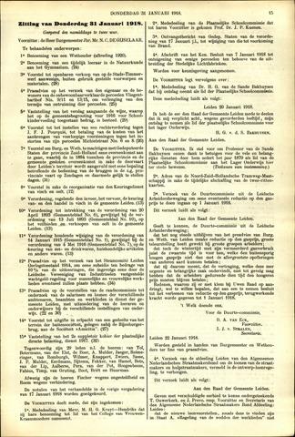 Handelingen van de Raad 1918-01-31