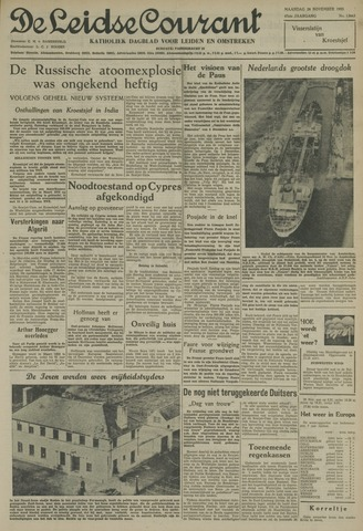 Leidse Courant 1955-11-28