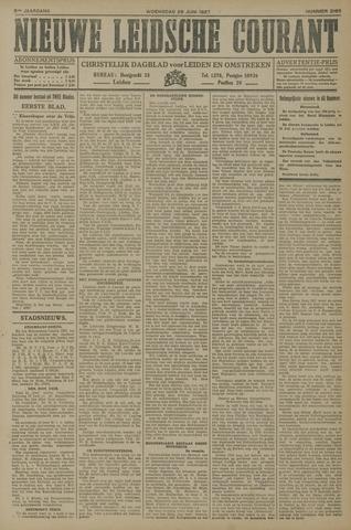 Nieuwe Leidsche Courant 1927-06-29