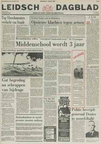 Leidsch Dagblad 1982-01-28