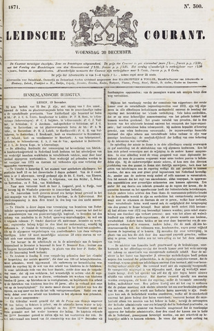 Leydse Courant 1871-12-20