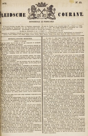 Leydse Courant 1872-02-22