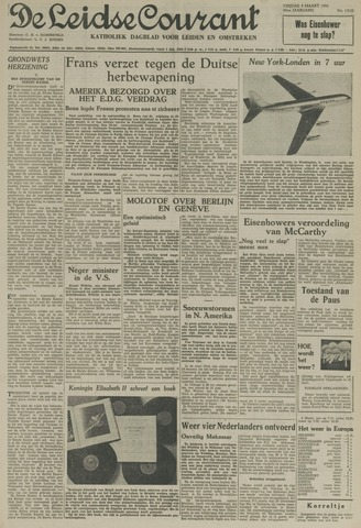 Leidse Courant 1954-03-05