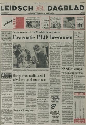 Leidsch Dagblad 1982-08-21