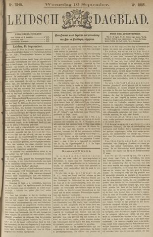 Leidsch Dagblad 1885-09-16