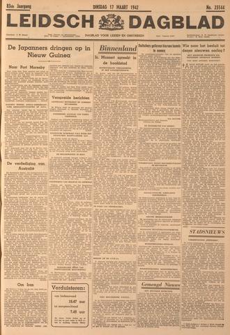 Leidsch Dagblad 1942-03-17