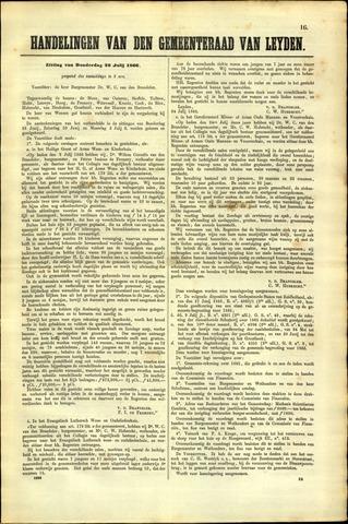 Handelingen van de Raad 1866-07-26