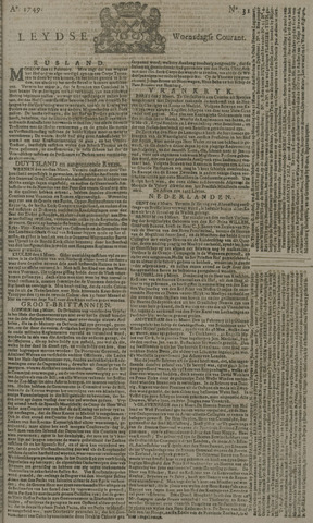 Leydse Courant 1749-03-12