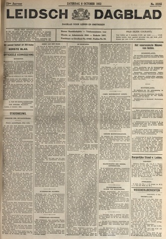 Leidsch Dagblad 1932-10-08