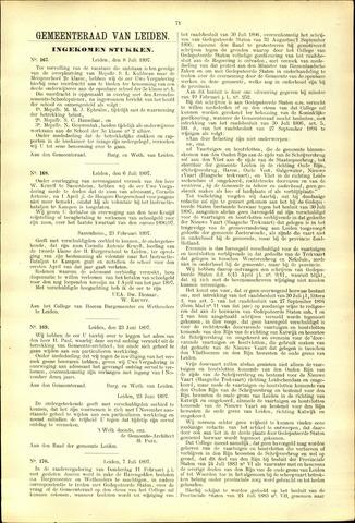 Handelingen van de Raad 1897-07-08