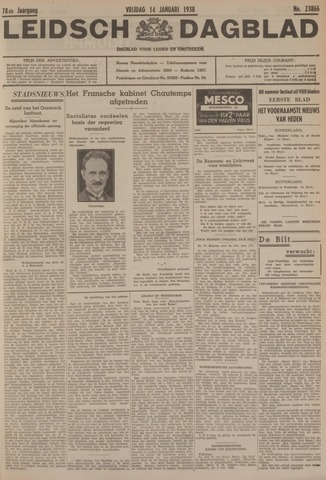 Leidsch Dagblad 1938-01-14