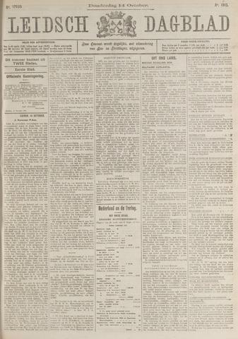 Leidsch Dagblad 1915-10-14