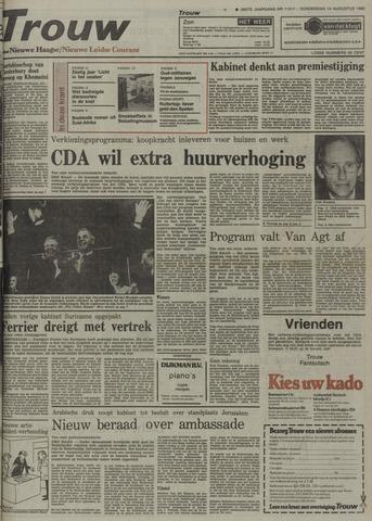 Nieuwe Leidsche Courant 1980-08-14