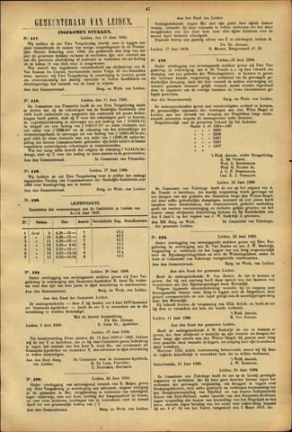 Handelingen van de Raad 1889-06-17