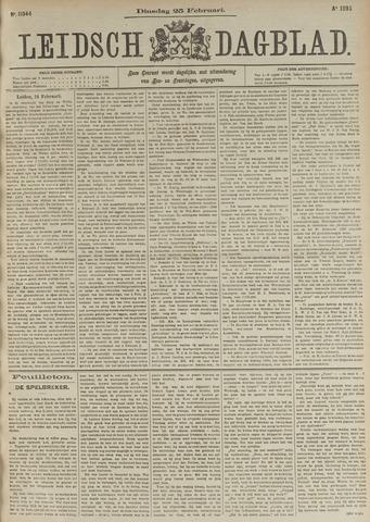 Leidsch Dagblad 1896-02-25