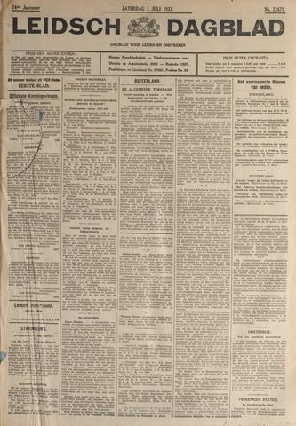 Leidsch Dagblad 1933-07-01