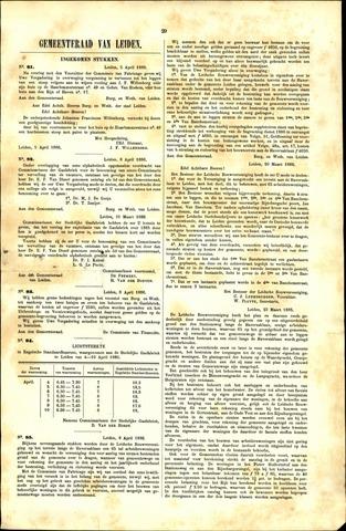 Handelingen van de Raad 1886-04-05