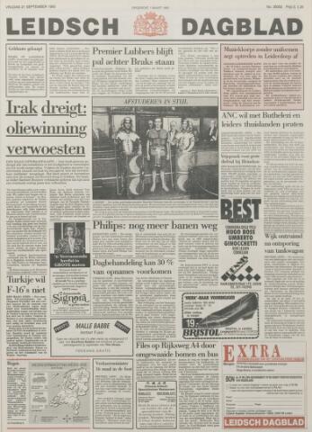 Leidsch Dagblad 1990-09-21