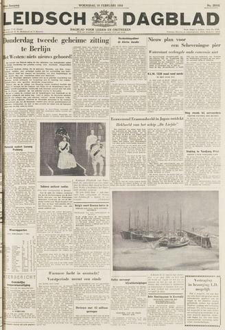 Leidsch Dagblad 1954-02-10