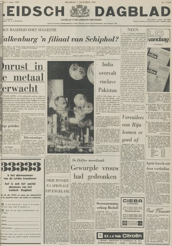 Leidsch Dagblad 1970-12-07